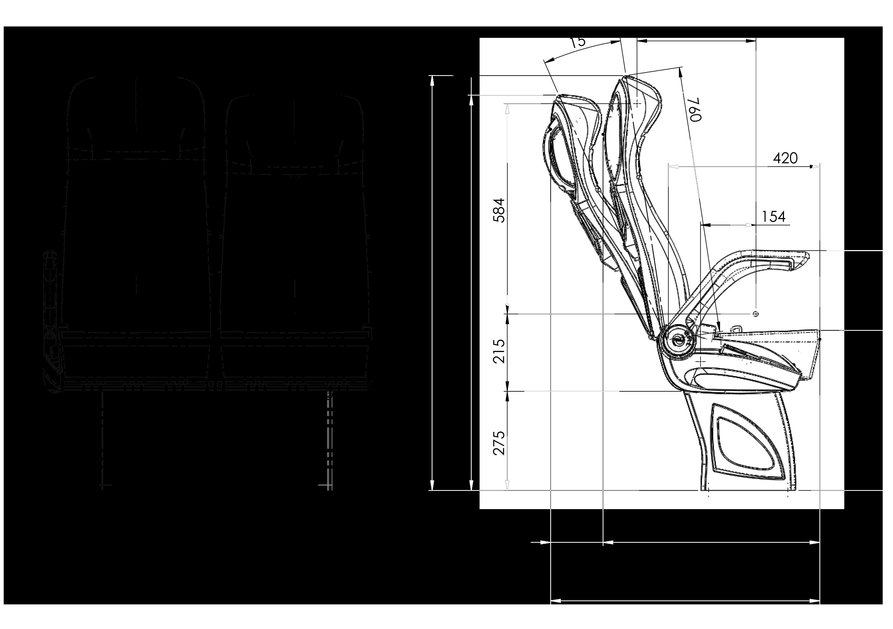 GS 500 teknik çizimi