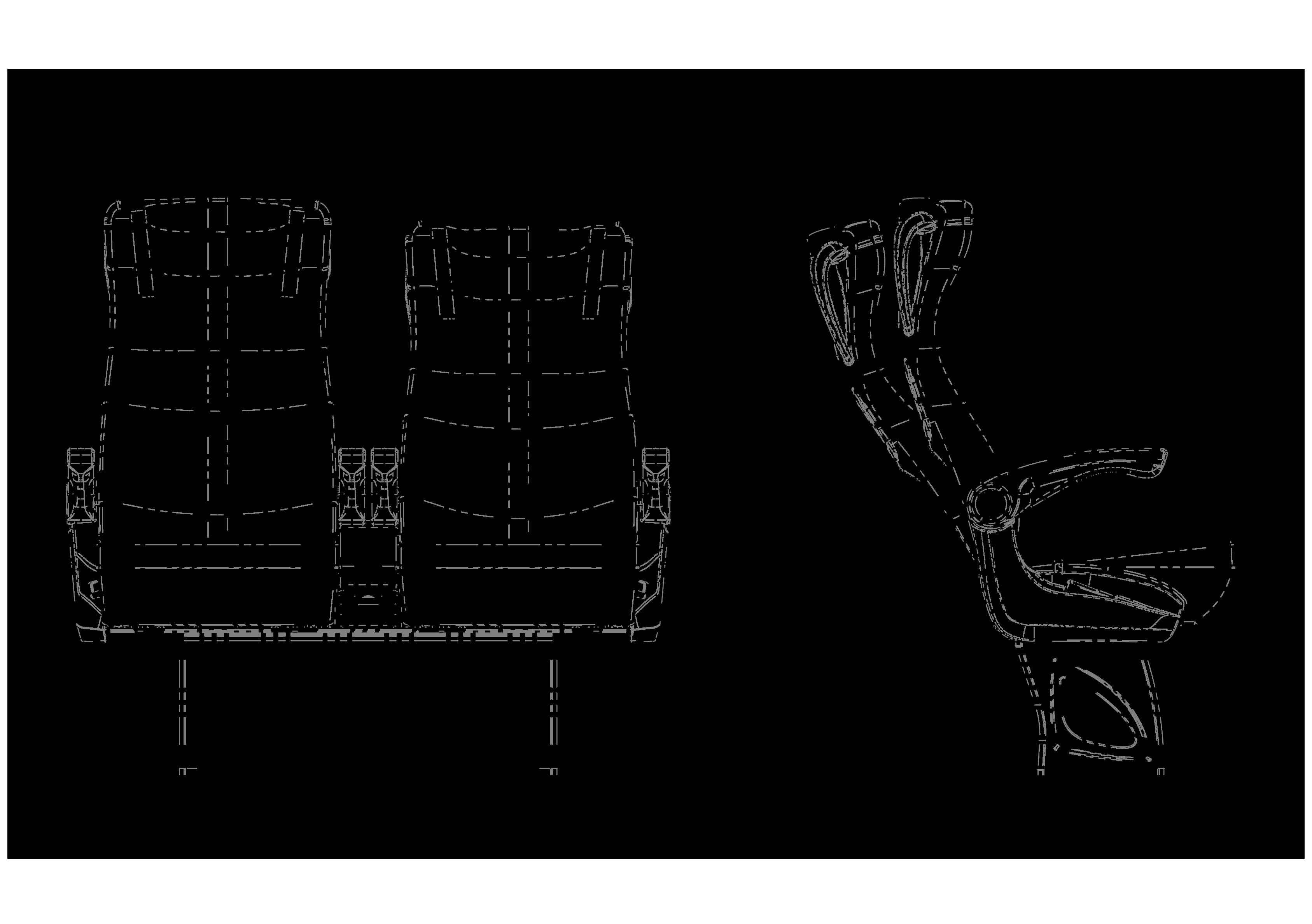 STAR VİP teknik çizimi