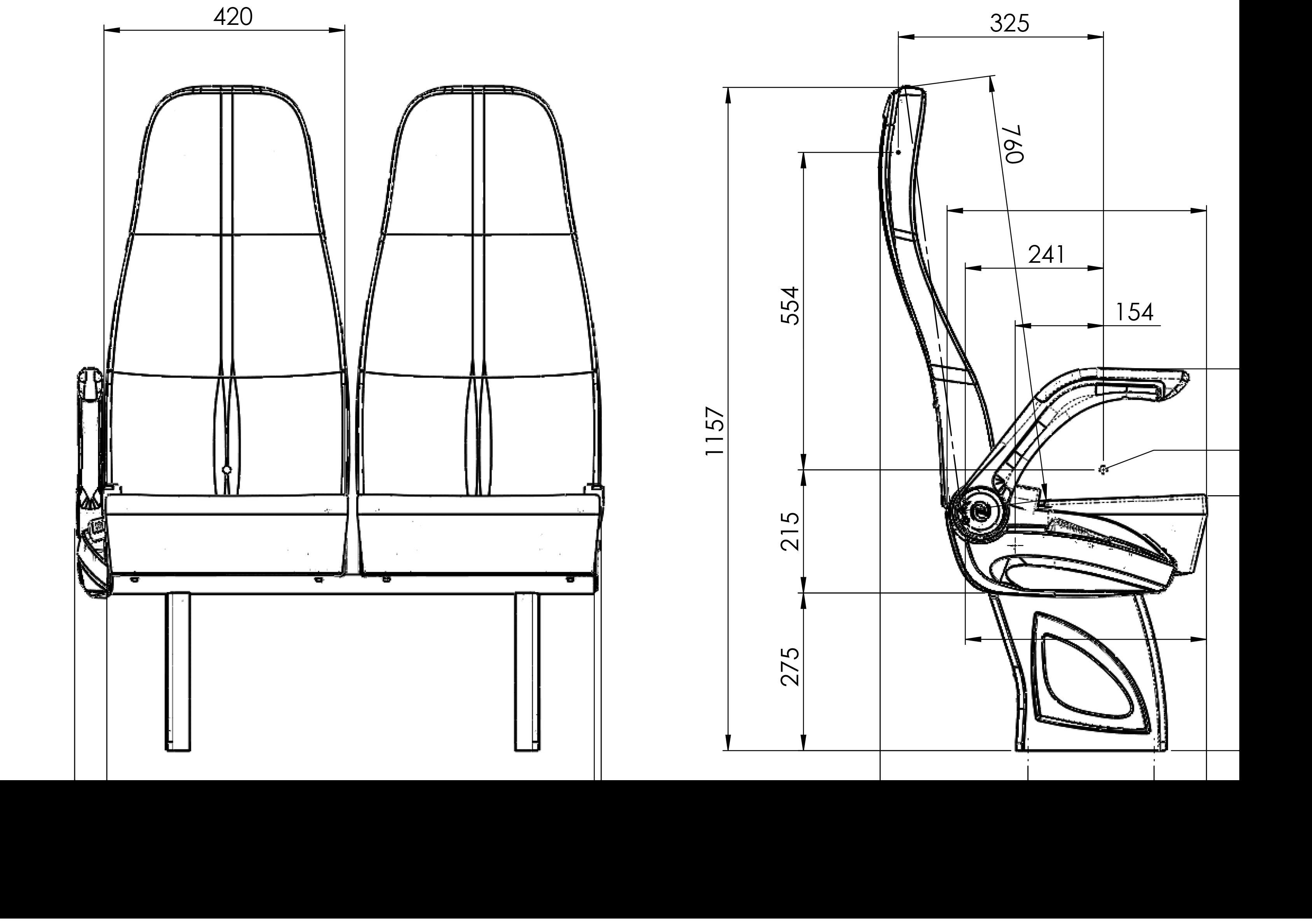 GS172 teknik çizimi