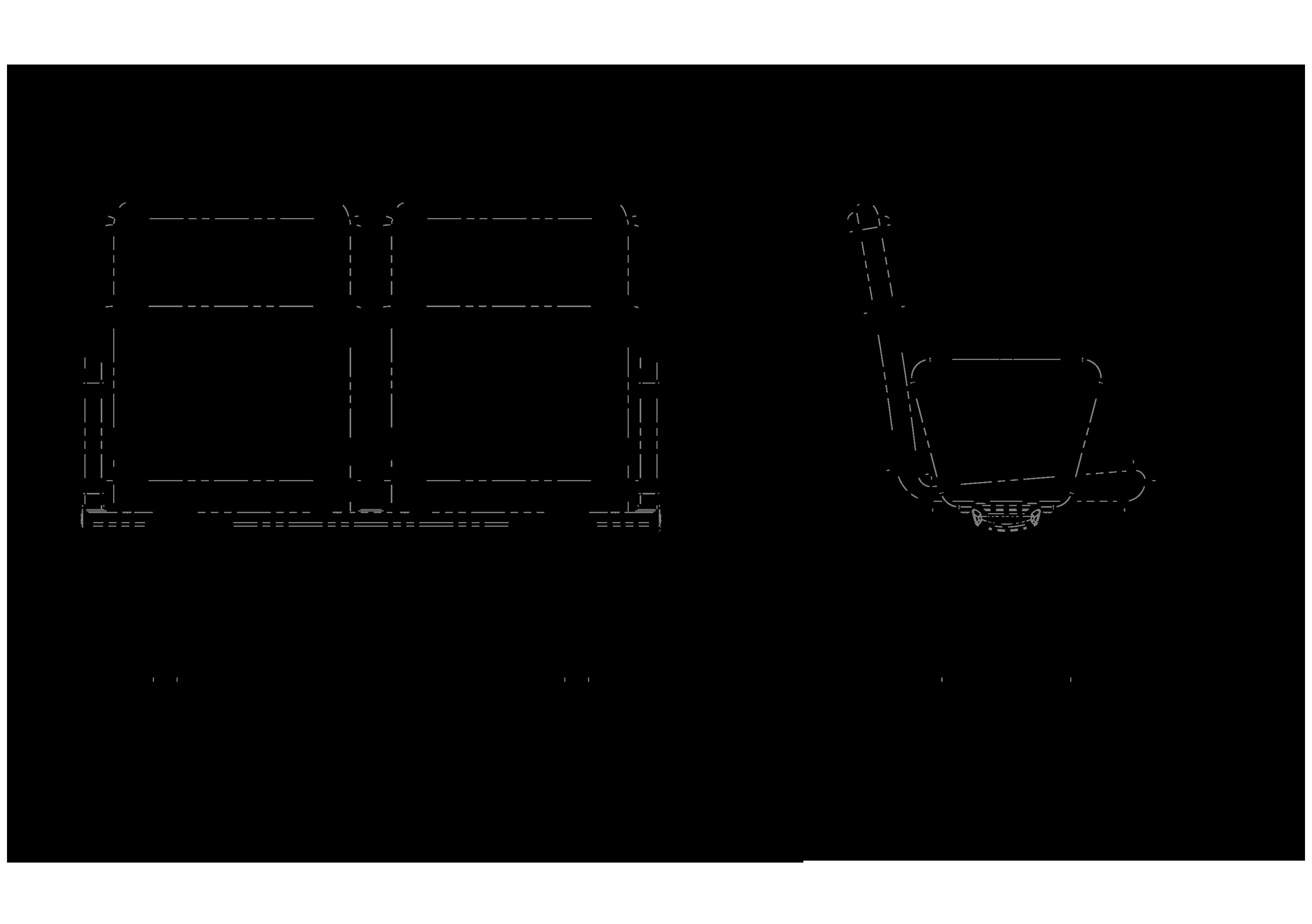 GS 1000 teknik çizimi