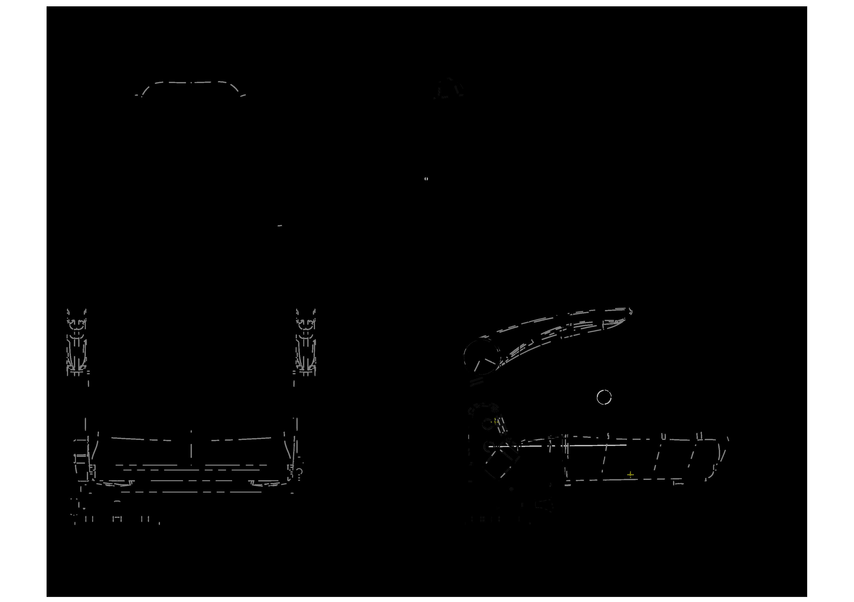 GS 159 teknik çizimi