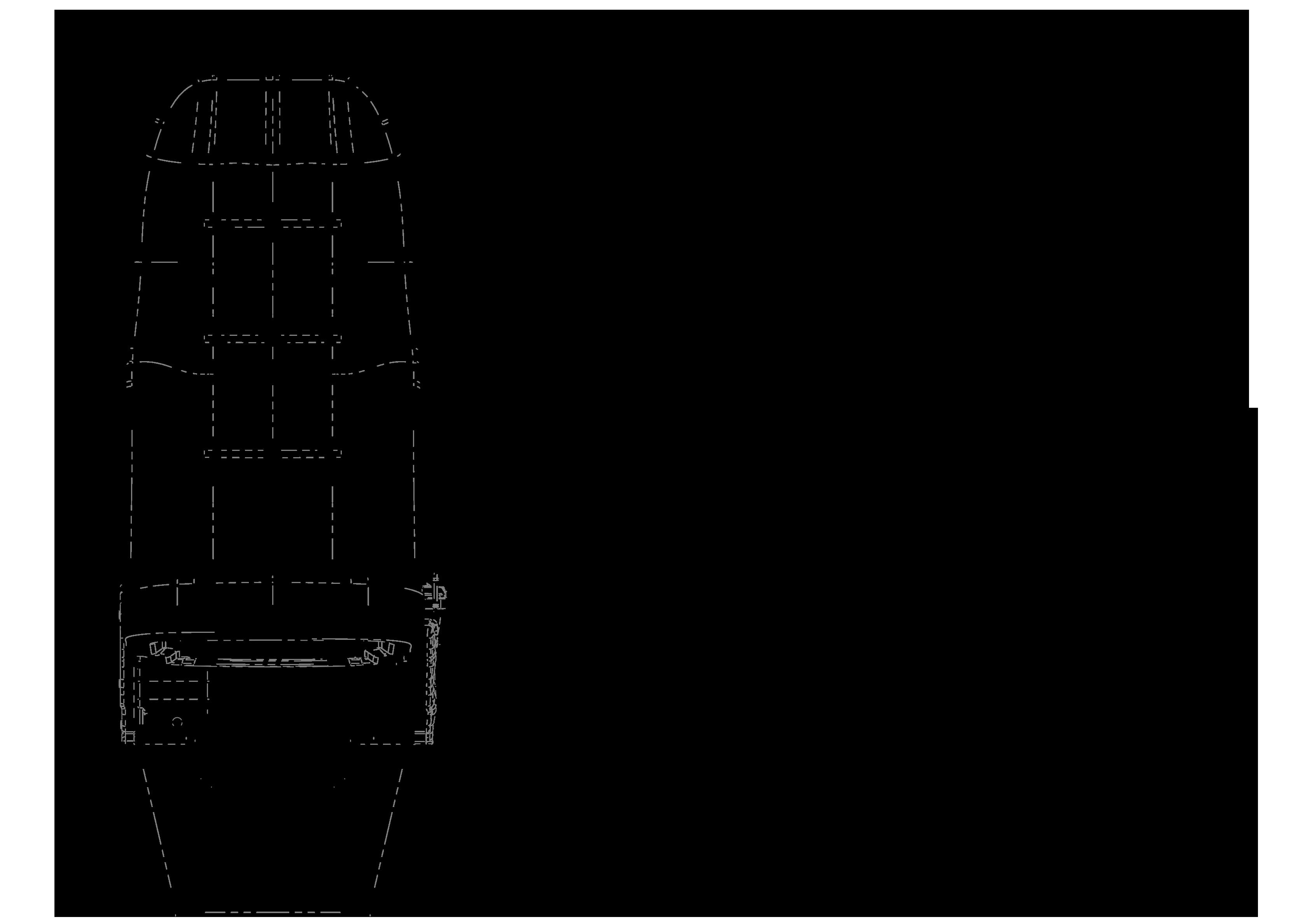 GS150 teknik çizimi